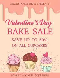 bake sale flyer templates valentines day bake sale flyer design template bake sale flyer