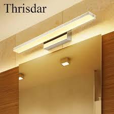 led bathroom mirror lighting. Thrisdar 9W 12W Anti-fog Acrylic Bathroom Mirror Light Waterproof Vanity LED Wall Lamp Led Lighting A
