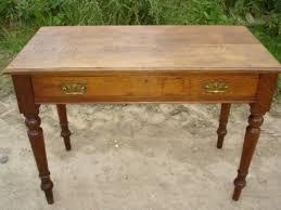 antique hall table. Fine Antique Edwardian Oak Hall Table Side On Antique Hall Table