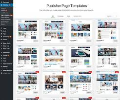 Templates For Homepage Contact Us Page In Publisher