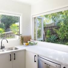 Small Picture kitchen with window splashback Kitchen idea Pinterest Window