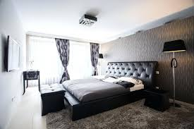 black and grey bedroom ideas an elegant minimalist black and white bedroom the wall behind the black and grey bedroom ideas