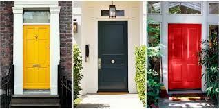 what color to paint front doorPainted Front Doors Colors and Feng Shui Meanings