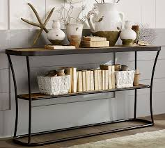 entrance console table. bartlett reclaimed wood console table pottery barn entrance r