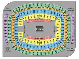 Reliant Seating Chart Football Houston Rodeo Seating Chart Concert Schedule Ticket Tips