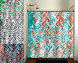 c shower curtains colored best with salmon curtain ideas 10