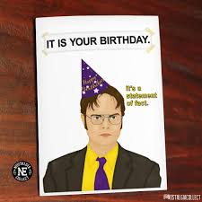 Office Birthday The Office Birthday Card The Office Birthday Card Quotes Best Happy