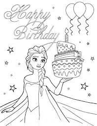 Birthdays coloring pages for kids. 13 Phenomenal Birthday Coloring Pages Image Inspirations Jaimie Bleck