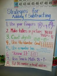 46 Best Math Anchor Charts Addition And Subtraction Images