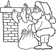Small Picture Christmas Coloring Pages With Santa Coloring Pages