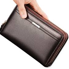 waterproof pu leather clutch bag men wallet 7 card holders coin bag phone bag ping newchic