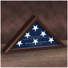 personalized flag display case. Delighful Personalized Personalized Small Flag Case For 3u0027 X 5u0027 With WalnutCherry Finish Zoom Inside Display 0
