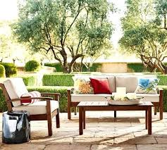 pottery barn ham mahogany sofa friendly outdoor furniture table cover sectional review