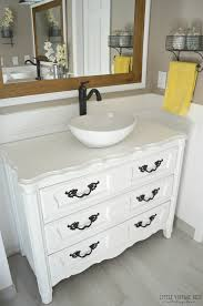 interior old dresser turned bathroom vanity tutorial conventional turning a into 3 turning a