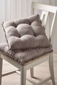 Купить <b>Набор</b> подушек на стулья с помпонами (2 шт.) на сайте ...