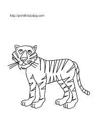 Small Picture Free Printable Wild animals Coloring Pages 2