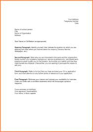 Job Application Cover Letter Best Of Example Simple Examples