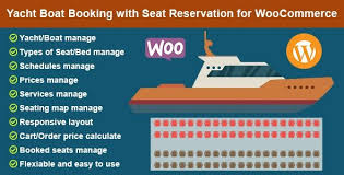 Wordpress Seating Chart Plugin Yacht Boat Booking With Seat Reservation For Woocommerce
