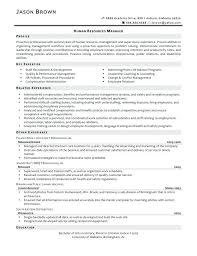 Resume Objective For Human Resources Confortable Human Resources