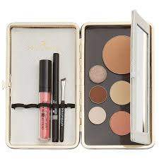 ... (Sugar Cube White) - Features Naked Magnetic Palette, Foldaway Vanity  Mirror, and Elastic Holding Bands for Brushes, Lipstick & other Cosmetic  Storage