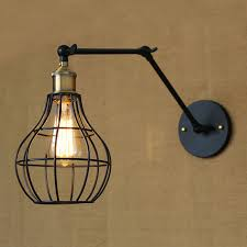 edison style lighting fixtures. Vintage Iron Wall Lamp Retro Mounted Bedside Sconce Lights Lamparas De Pared Warehouse Cafe Bar Fixture Light-in Lamps From \u0026 Lighting Edison Style Fixtures N