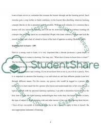 successful learning and three ingredients needed to ensure  successful learning and three ingredients needed to ensure successful learning essay example