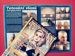 Mikropigmentace Tetováni Vlasů Brno