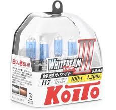 <b>Лампы KOITO</b> Whitebeam III <b>H7</b> купить в XenonShop.ru