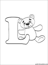 Letter L Kleurplaat Gratis Kleurplaten