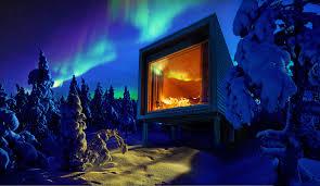 Glass Igloo Northern Lights Doze Off Under The Northern Lights Visitfinland Com