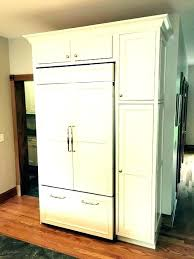 panel ready refrigerator we are restor an old house curly the