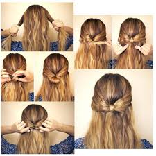 Bows In Hair Style how to make a bow in your hair i think i will do this tomorrow 1538 by wearticles.com