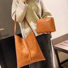 Lammei handbag bags for women 2019 <b>Fashion Crocodile Pattern</b> ...