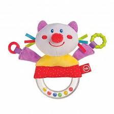 Купить <b>Погремушка</b> ДЕТ <b>Happy Baby</b> 330357 Кот недорого в ...
