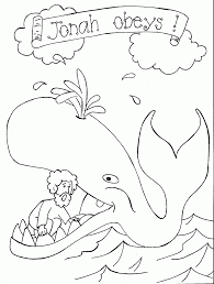 Coloring Pages Jonah And The Whale Coloring Pages Swallow Sunday