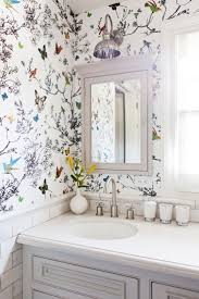 this insanely chic l a home will give you gooseps wallpaper bathroom wallpaper bathroom house design