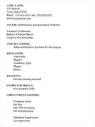Different Types Of Resumes The 3 Main Types Of Resumes Types Of