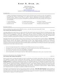 Sample Counselor Resume Extraordinary Kirby R Ryan Jr Resume 4848
