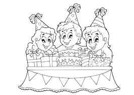 Kleurplaat Verjaardag Tante Kleurplaat Verjaardagstaart Onderdelen
