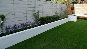gorgeous flower bed fence ideas 8 grass raised beds modern painted small garden design idea london
