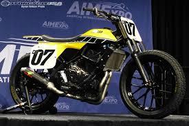 concept yamaha fz07 flat track bike