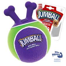 <b>GiGwi Игрушка</b> для собак <b>Jumball</b> теннисная резина, 19 см купить ...