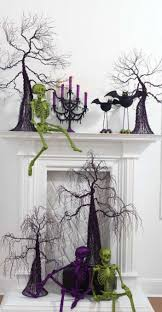 Halloween Bathroom Accessories 10 Ideas To Decorate A Fireplace In Halloween Home Interior