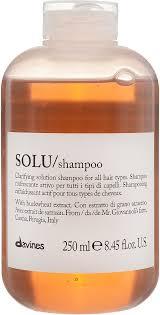 Davines Essential Haircare Solu <b>Shampoo</b>, Освежающий <b>шампунь</b> ...