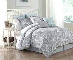 black pintuck comforter and grey comforter set light blue and grey bedding black and grey comforter