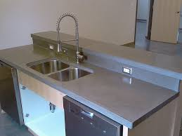 poured concrete countertops pros and cons