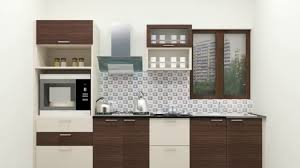 Small Straight Kitchen Design