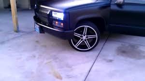 My custom 1996 Chevy Cheyenne on 22s - YouTube