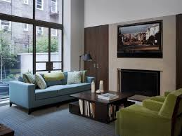 blue couches living rooms create intimacy among relatives appealing image of living room decoration using
