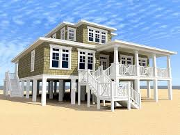 coastal living house plans on pilings lovely 391 best beach houses images on